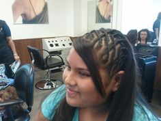 Keep cool this summer with BRAIDED HAIR DESIGNS done by students at our beauty school in San Antonio.  To see more styles check out our pictures at www.Facebook.com/BellaBeautyCollege