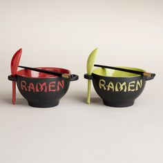 Ramen Noodle Bowl - Going to give one of these to my son with his high school graduation gift. I could have used one in college!! Also inexpensive graduation gift for him to give to his friends.