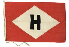 House flag, Hargreaves Coal and Shipping Ltd - National Maritime Museum