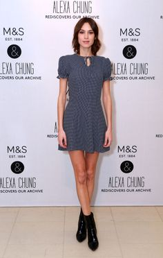 Mother and daughter duo both try Alexa Chung's M&S collection and find items that they loved from the range, which dives into M&S' archives with the style guru to recreate fresh and on-trend pieces. Fashion Editor, Fashion Models, Alex Chung, English Fashion, Duchess Of York, Hot Pants, Summer Looks, Daughter, Short Sleeve Dresses