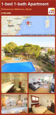 1-bed 1-bath Apartment in Palmanova, Mallorca, Spain ►€165,000 #PropertyForSaleInSpain