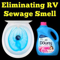Eliminating RV Sewage Smell