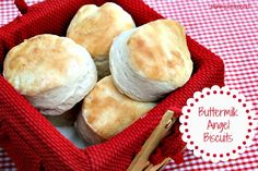 "Mommy's Kitchen: White Lily ""Save The Biscuit Giveaway"" {Recipe: Buttermilk Angel Biscuits} This southern favorite is a cross between a yeast roll and a biscuit. Very simple to make."