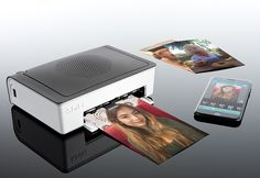Smartphone Photo Printer @ Sharper Image