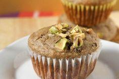Quinoa, Pistachio Muffins