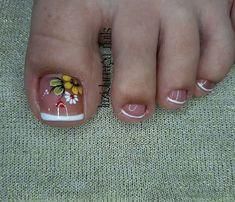 Foot Pics, Manicure And Pedicure, Nail Designs, Hair Beauty, Nail Art, Nails, French Nails, Designed Nails, Gel Nail