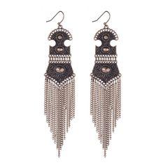 Bohemian Tassel Drop Earrings Fashion Jewelry For Women