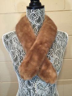 Vintage Fur Collar Scarf Mink Brown Mid Century Traditional Mad Men https://www.etsy.com/listing/267239511/vintage-fur-collar-scarf-mink-brown-mid?utm_source=socialpilotco&utm_medium=api&utm_campaign=api  #vintage #mink
