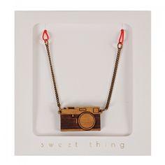 Camera Necklace By Meri Meri
