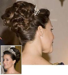 Kongelige frisurer - prinsesse Marie