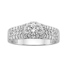 Fred Meyer Jewelers   1 ct. tw. Diamond Engagement Ring