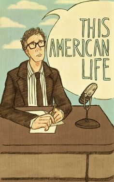 Ira Glass.  Why? Because he's smart and funny and I love This American Life (and the New Kings of Nonfiction).: