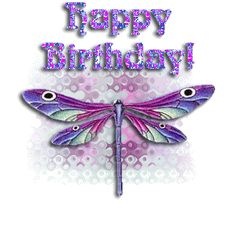 Image result for happy birthday dragonfly