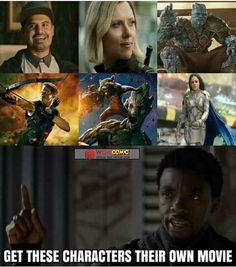 Please Marvel?