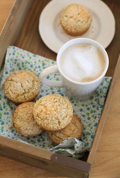 This is your curl up with a blanket, cup of coffee and a book muffin. Your pre or post workout muffin. Your brunch with friends, make your co-workers love you muffin. Your afternoon pick-me-up to t…