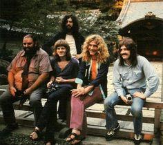 Led Zeppelin in Japan, 1971.