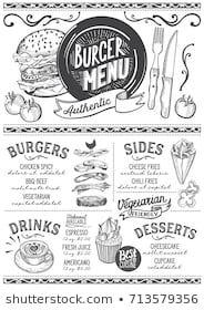 Images, photos et images vectorielles de stock similaires de Restaurant Food Menu Design Chalkboard Background - 196454786 similaires | Shutterstock Food Trucks, Food Truck Menu, Food Menu Design, Cafe Design, Restaurant Routier, Pizza Menu, Pizza Food, Burger Food, Brunch Café
