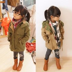 I want to be as cool as she is-Kids fashion