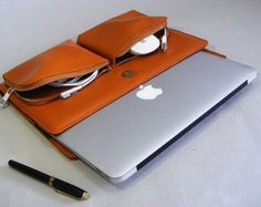 MACBOOK 12inch Business Portfolio Case with Leather by leathercase