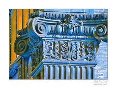 Fine Art wall print of architectural column by madeyoulookbiz