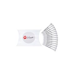 Branded Golf Tees Pillow Pack. Perfect golf day accessory.  Includes 15x 70mm. Ideal for golf day giveaway.  http://www.sportythoughts.com/products/branded-golf-accessories/branded-golf-tees-pillow-pack/
