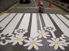 crosswalk flower - Google Search