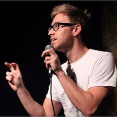 Russell Howard - he's funny and beautiful, ughhhhh.