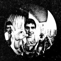 Guilherme e Renato, amigos inseparáveis - 1982.