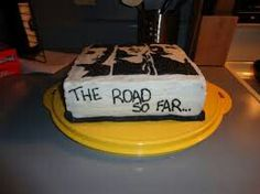 Supernatural cake I want this for my birthday