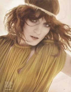 Florence Welch Vogue