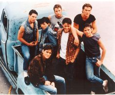 THE OUTSIDERS (1983) starring C. Thomas Howell, Rob Lowe, Emilio Estevez, Matt Dillon, Tom Cruise, Patrick Swayze, Ralph Macchio, and Diane Lane. Unforgettable quote: Stay gold, Ponyboy. Stay gold. (Johnny Cade, portrayed by Ralph Macchio)