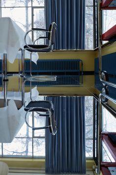 La maison Sonneveld à Rotterdam © Johannes Schwartz Interior Bauhaus, Rotterdam, Exterior Design, Interior And Exterior, 1930s House Renovation, Dutch House, Modernisme, Bauhaus Style, Architectural Elements