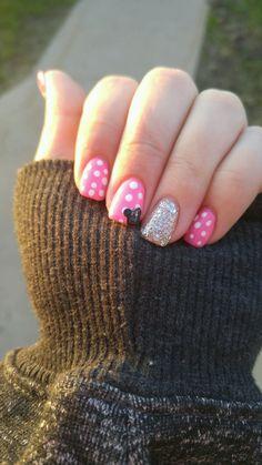 My Disney nails!!