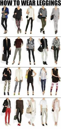 How to wear leggings? What to wear with leggings? – Erin Cleveland How to wear leggings? What to wear with leggings? how-to-wear-leggings of Style Mode Outfits, Casual Outfits, Fashion Outfits, Womens Fashion, Fashion Tips, Fashion Trends, Fashion Shoes, Ladies Fashion, Fashion Beauty