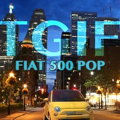 Treat yourself to a night out on the town with the 2015 500 Pop! Make this a night to remember! Fiat 500 Pop, A Night To Remember, Tgif, Night Out, Neon Signs, Memories, Night Out Tops, Memoirs, Souvenirs