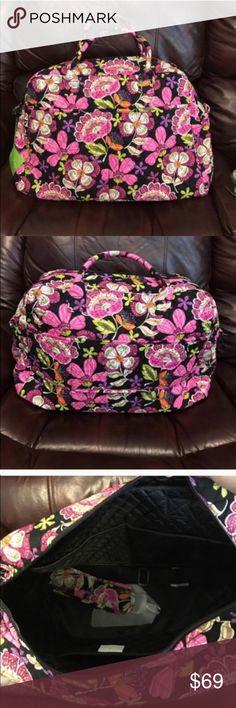 NWT Vera Bradley weekender pirouette pink NWT Vera Bradley weekender travel bag pirouette pink Vera Bradley Bags Travel Bags