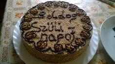 Szülinapra készült dió tortám!!! Tiramisu, Birthday Cake, Ethnic Recipes, Desserts, Food, Tailgate Desserts, Birthday Cakes, Deserts, Eten