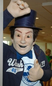 Washburn University and its Ichabods are both named for an early benefactor of the school – Ichabod Washburn. Washburn University, Topeka Kansas, Team Mascots, World Of Sports, Madness, Parents, Baseball Hats, College, History