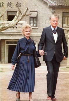 Ruth and Billy Graham: Saints of our time; my heroes.