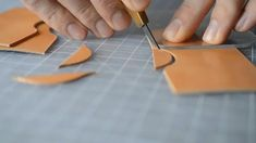Hand Crafting a Leather Wallet / Handmade Minimalist Leather Goods / Hand Stitched / Leatherwork - Messer Leather Bag Tutorial, Leather Wallet Pattern, Handmade Leather Wallet, Leather Gifts, Handmade Bags, Handmade Bracelets, Leather Thread, Sewing Leather, Stitching Leather