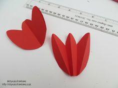 3D Tulip flower fold