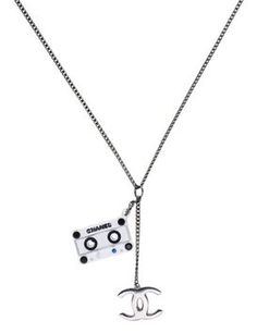 Chanel Tape Motif Necklace. Get the lowest price on Chanel Tape Motif Necklace and other fabulous designer clothing and accessories! Shop Tradesy now