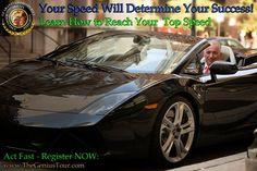"""Your speed will determine your success"" Meir Ezra"