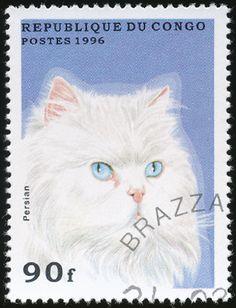 Republic of Congo 1996 Cat Stamps - Persian