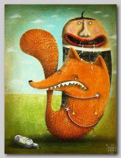 Hosber Art - Blog de Arte & Diseño.: Pinturas de Robert Romanowicz