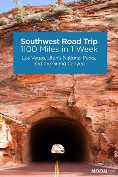 Southwest Road Trip - 1100 Miles in 1 Week #TravelDestinationsUsaCrossCountry