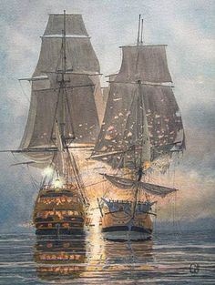 The Ships of John Paul Jones by William Gilkerson