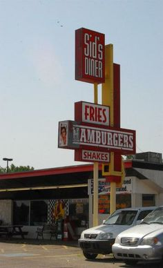 Sid's Diner, Route 66 - Yukon, Oklahoma