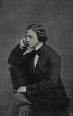 Lewis Carroll, aged 23