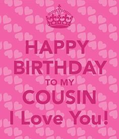 Happy Birthday Cousin Quotes Gorgeous Happy Birthday Lovely Cousin  Thoughts  Pinterest  Happy Birthday . Decorating Design